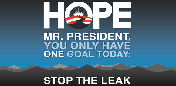 Mr. President: STOP THE LEAK