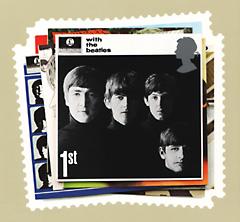 ビートルズのポストカード