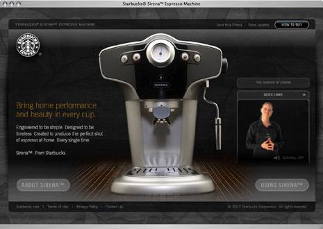 Starbucks® Sirena™ Espresso Machine
