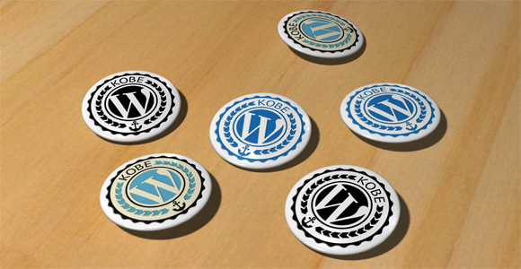 WordBench KOBE Badges